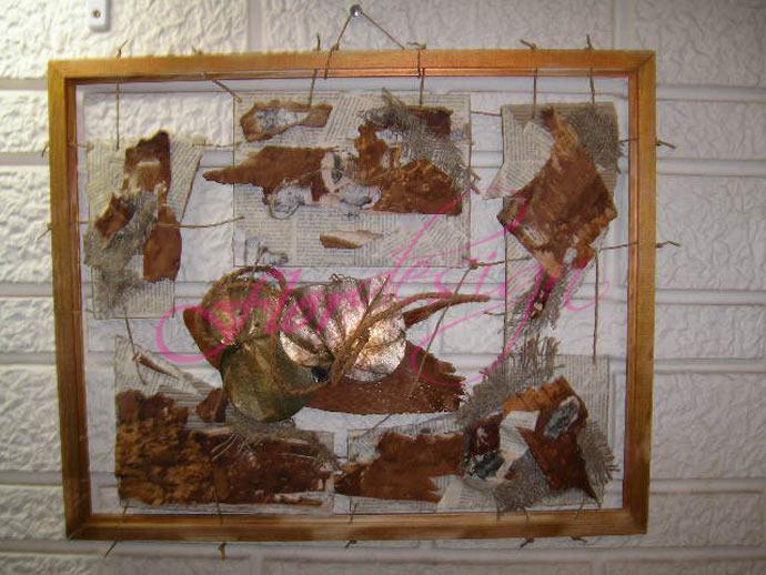 Коллажи и панно - Панно на стену